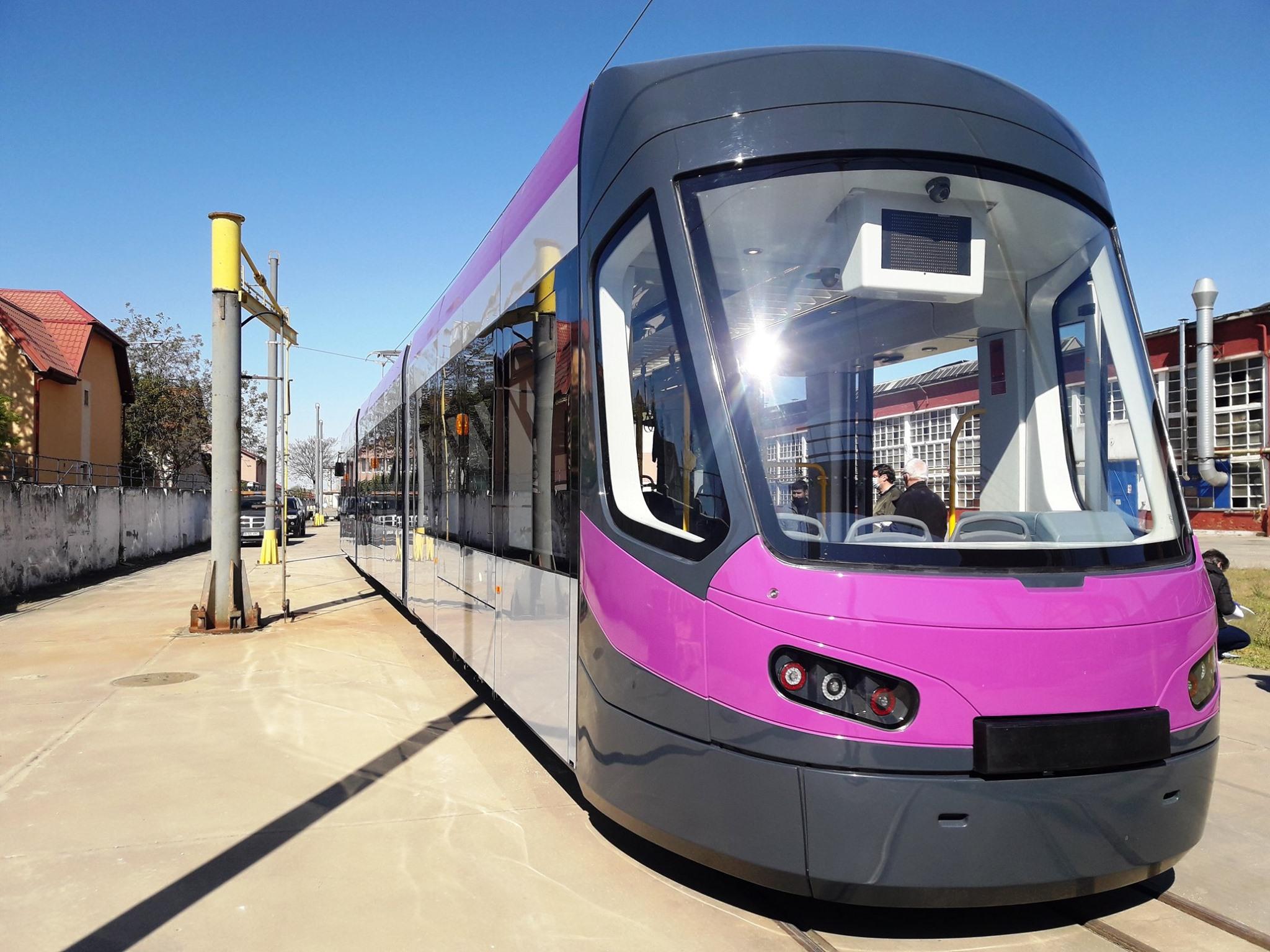 Primul tramvai Imperio a ajuns la Cluj Napoca