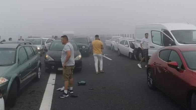 Accident Autostrada Soarelui 16.07.2021 FOTO