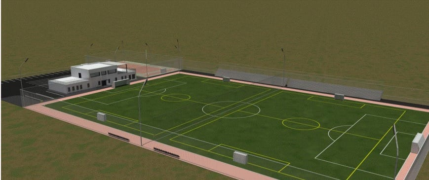 Pas înainte pentru noua bază sportivă de la Pecica